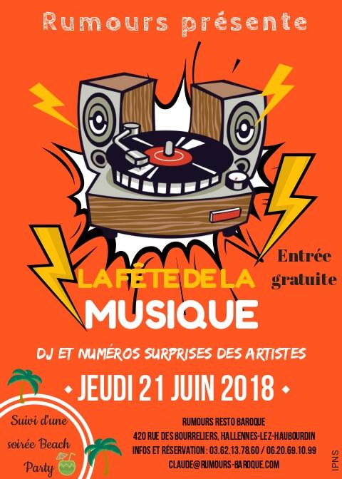 Fête de la musique 21-06-2018