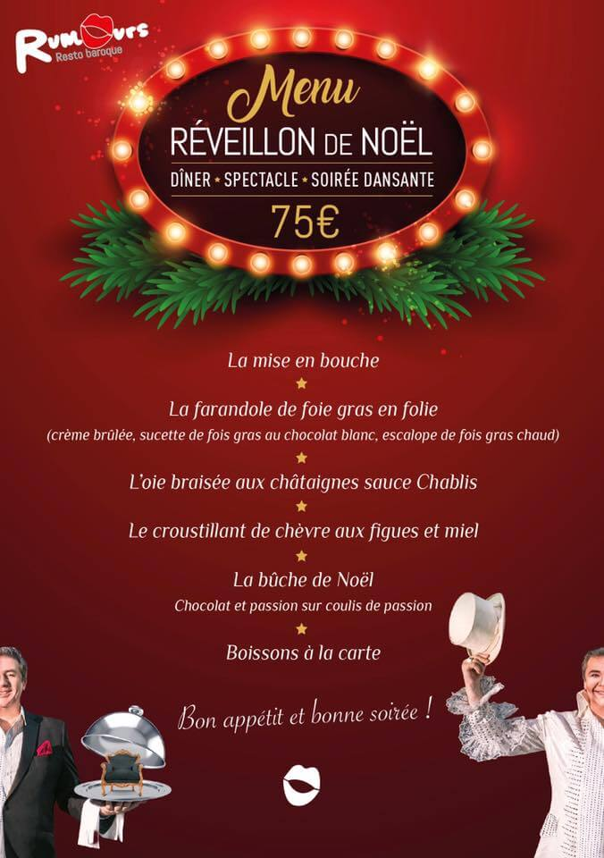 Restaurant Ouvert Pour R Ef Bf Bdveillon De Noel