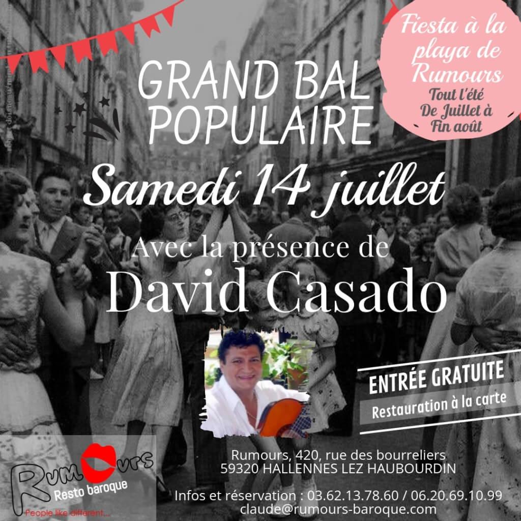 Bal Populaire 14 juillet